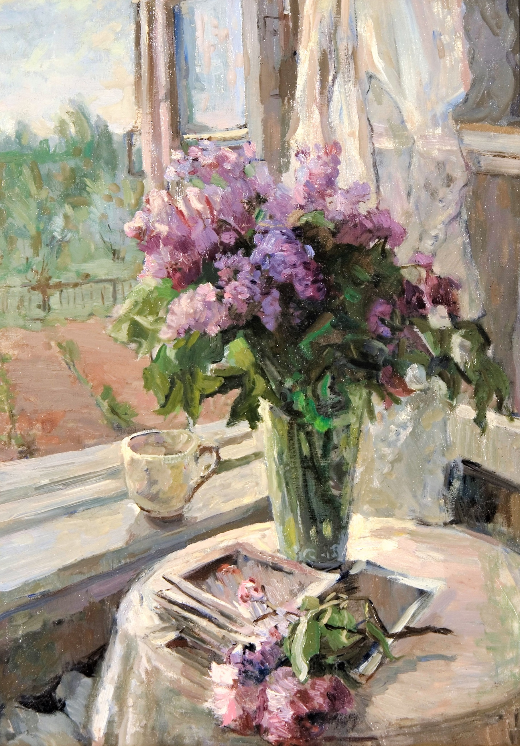 2937 Lilacs by the window