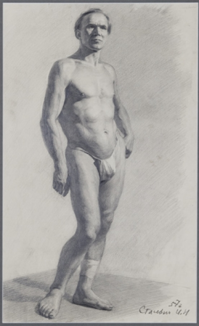 Stasevich Ivan N.- Nude Model