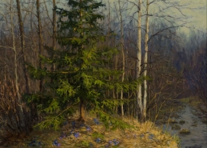 "Filippov, Vladimir V.- "" Evening. Snowdrops"""