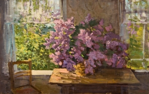 "Butko, Victor N.- ""The Lilac, The Opened Window"""