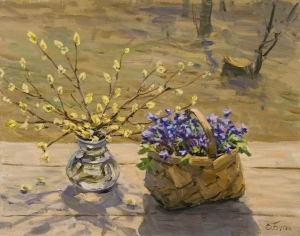 "Butko, Victor N.- ""Early Flowers"""