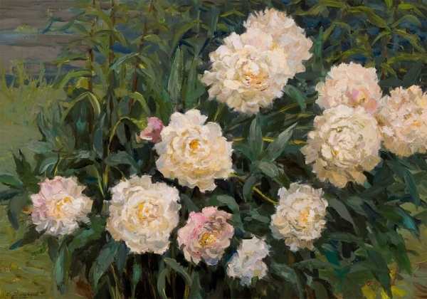 "Filippov, Vladimir V.- "" Bush of Peonies"""