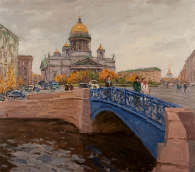 "Butko, Victor N.- ""St. Isaac Cathedral- The Cloudy Day"""