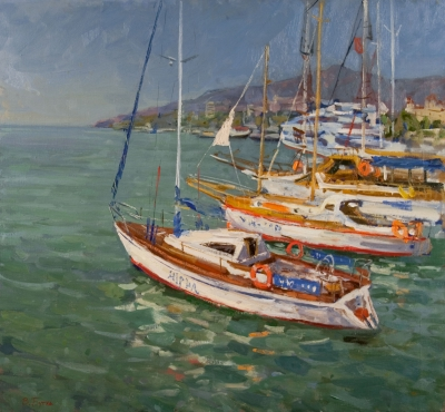 "Butko, Victor N. ""Yachts in Yalta"""