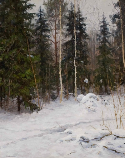 "Filippov, Vladimir V.- "" Winter Forest"""
