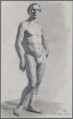 Stasevich Ivan N.- Nude Model
