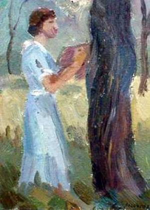Logacheva- Untitled (Women by Tree)